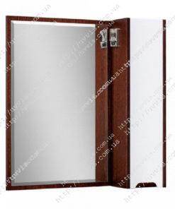 Зеркало в ванную Браун Z-1 80 Р (с подсветкой)