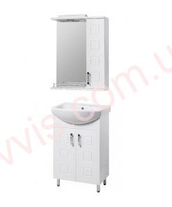 Комплект мебели для ванной Кватро 55 см Т+З купить